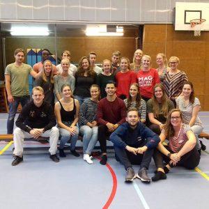 1 oktober Gastles Tai Chi & Qi Gong voor studenten Fysiotherapie aan de Hanzehogeschool Groningen