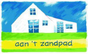 Aan 't Zandpad, een sfeervolle kijktuin en cursusruimte aan de Hoge Hereweg 27 te Glimmen. Het atelier is bedoeld voor ontspanning, creativiteit en bezinning.