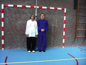 Anneke & Machiel / verzorgen authentieke Tai Chi & Qi Gong lessen op basis van delesstof en lessen van Meester Tang Wei, die Anneke sinds 1997 volgt en Machiel sinds 2005