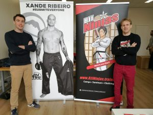 Machiel Gabor Welbergen & Micha Busch (CEO BJJFightgear)