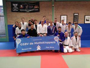 BJJNinja`s trainingsdag 12 januari 2019 i.s.m de G..S.V. De Mattekloppers