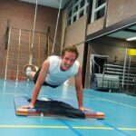 Personal training in Gymzaal de Groeneberg November 2020