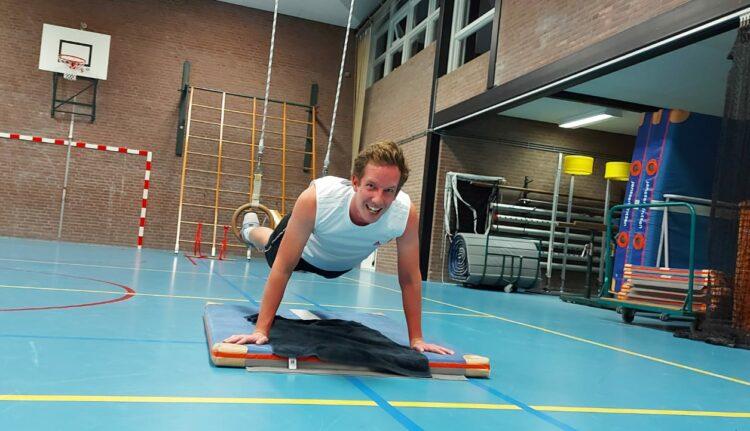 Personal training in Gymzaal de Groeneberg November 2020
