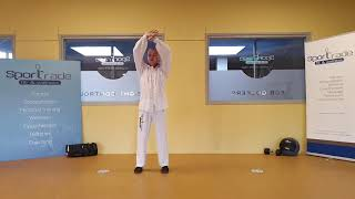 Les 1 van 5 /  W-up Tai Chi Qi Gong 18 vorm (routines 1 tm 7) & Yijin Jing (routines 1 tm 4) met uitleg – Yang 13 vorm Deel 1 (vormen 1 tm 7) – Yang 43 vorm Deel 1 (vormen 1 tm 9)